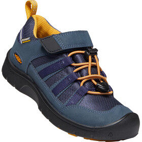 Keen Hikeport 2 Low WP Zapatillas Niños, blue nights/sunflower